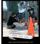 canine circus school squink hoop